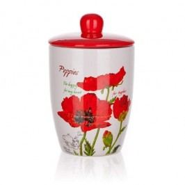 Red Poppy dóza s víčkem 600 ml