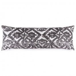 povlak na Relaxační polštář Náhradní manžel Porto šedá, 50 x 150 cm