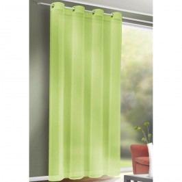 Závěs s kroužky Till zelená, 140 x 245 cm, 140 x 245 cm