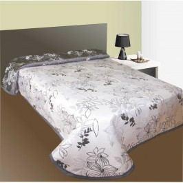 Prehoz na posteľ Lisbon šedý