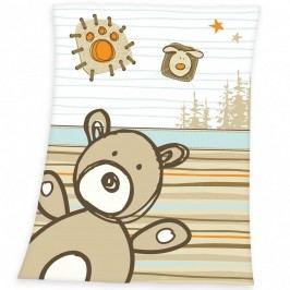 Herding Dětská deka Luis Bear, 75 x 100 cm