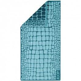 JOOP! Ručník Gala Croco Lagune, 50 x 100 cm