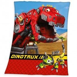 Herding Dětská deka DinoTrux, 130 x 160 cm