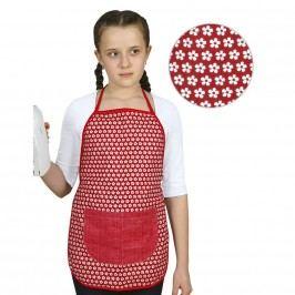 Bellatex Dětská zátěra Kvítek na červené, 42 x 45 cm
