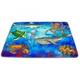BO-MA dětský koberec mořský svět, 76 x 117 cm