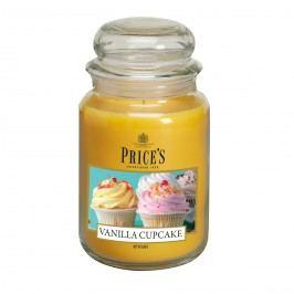 Price's Vonná svíčka ve skle Large Jar Vanilla Cupcake