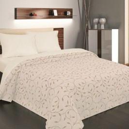 Přehoz na postel Indiana béžová, 240 x 260 cm
