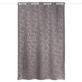 Zatemňovací závěs Serge šedostříbrná, 140 x 240 cm, 140 x 240 cm