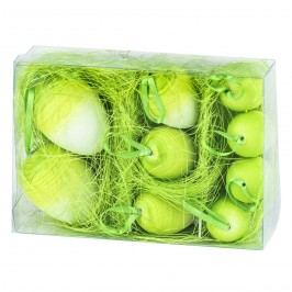 Velikonoční vajíčka 9 ks, zelená, HTH