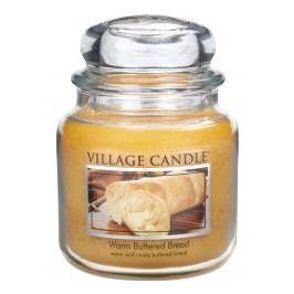 Village Candle Vonná svíčka ve skle, Teplé máslové houstičky - Warm Buttered Bread, 397 g, 397 g