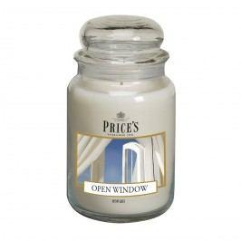 Price's Vonná svíčka ve skle Large Jar Open Window