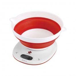 Renberg digitální kuchyňská váha červená