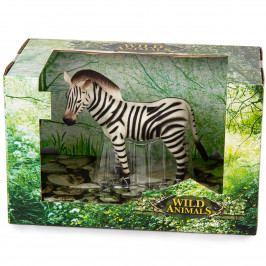 Zebra černobílá, 13 cm