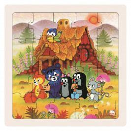 Bino Puzzle Paní Krtečková a přátelé, 20 dílků