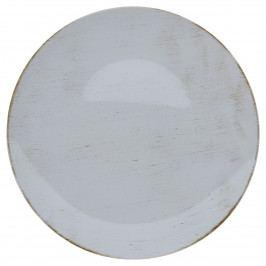 Dekorační talíř světle šedá, 40 cm,
