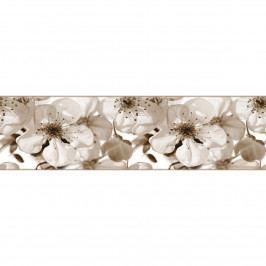 AG Art Samolepicí bordura Jabloňový květ, 500 x 14 cm