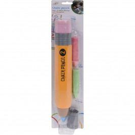 Maxi křídová tužka s náplněmi, 33 cm