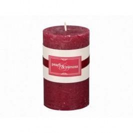 Dekorativní svíčka Elegance broskev a mimóza, 12 cm