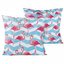 4Home Povlak na polštářek Flamingo, 2x 40 x 40 cm