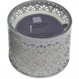 Dekorativní svíčka Scente, bílá