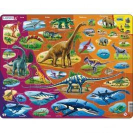 Larsen Puzzle Dinosauři, 85 dílků