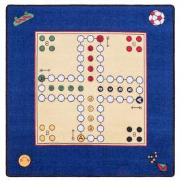 Spoltex Dětský koberec Člověče nezlob se 92 x 92 cm