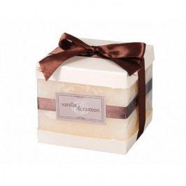 Dekorativní svíčka Elegance Vanilka a bavlna