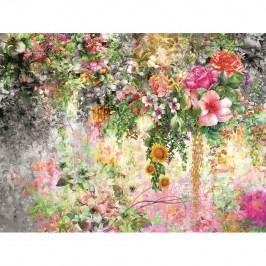 AG Art Fototapeta XXL Květinová zahrada 360 x 270 cm, 4 díly