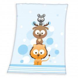 Herding Dětská deka Fynn Sweet Animals, 75 x 100 cm