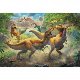 Puzzle TREFL Dinosauří souboj 160 dílků