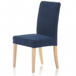 Forbyt Multielastický potah na židli Petra modrá, 40 - 50 cm, sada 2 ks