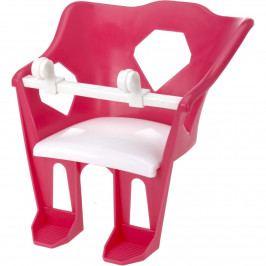Sedátko na dětské kolo pro panenku, růžová
