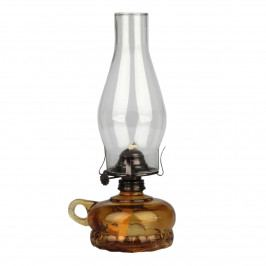 Petrolejová lampa, hnědá