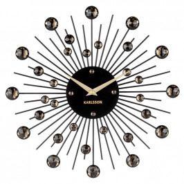 Karlsson 4860BK Designové nástěnné hodiny, 30 cm