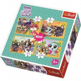 Puzzle TREFL Littlest Pet Shop 54,80,104,104 dílků
