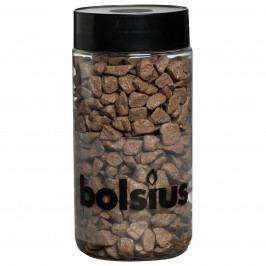 Bolsius Dekorační kamínky 13 mm hnědá, 550 g