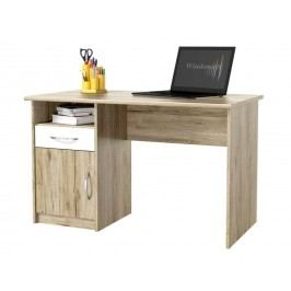 PC stolek - Famm - Modul (san remo + bílá)