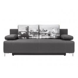 Pohovka - BRW - Kinga Lux 3DL šedá /Brooklyn