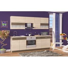 Kuchyně - Renar - Harmonia 240 cm dub světlý