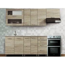 Kuchyně - Renar - Antonio 240 cm dub sonoma