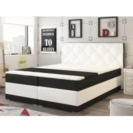 Manželská postel Boxspring 160 cm - Renar - Modena (s matrací)