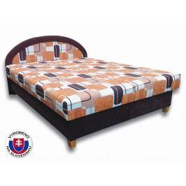 Manželská postel 180 cm - Važo - Elena N (s pěnovými matracemi)