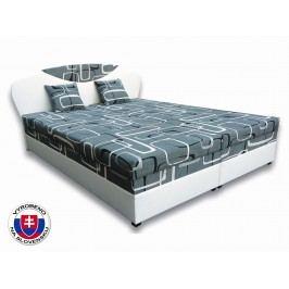 Manželská postel 160 cm - Važo - Izabela 1 (s matracemi)
