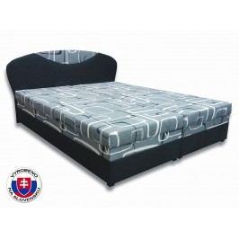 Manželská postel 160 cm - Važo - Izabela 2 (s matracemi)