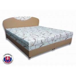 Manželská postel 160 cm - Važo - Izabela 3 (s pěnovými matracemi)