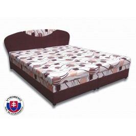 Manželská postel 160 cm - Važo - Izabela 4 (s pěnovými matracemi)