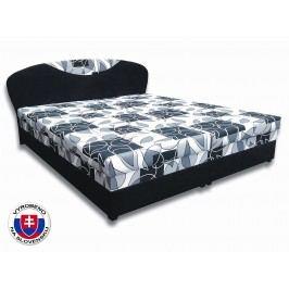 Manželská postel 160 cm - Važo - Izabela 5 (s pěnovými matracemi)