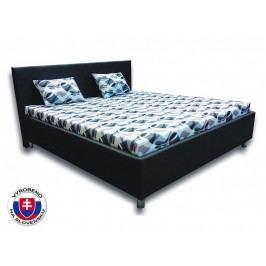 Manželská postel 160 cm - Važo - Leona 2 (s pěnovými matracemi)