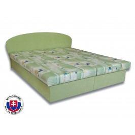 Manželská postel 160 cm - Važo - Milka 2 (s pěnovými matracemi)