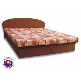Manželská postel 160 cm - Važo - Milka 3 (s pěnovými matracemi)